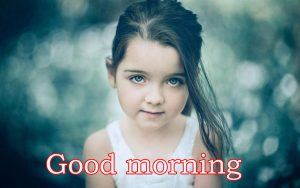 Sweet Cute Child kid good morning images Wallpaper Photo Download