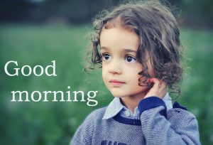 Sweet Cute Child kid good morning images Wallpaper Photo Free HD