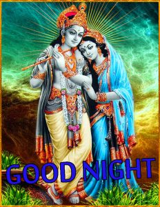 Radha Krishna Hindu God Religious good night images Wallpaper Pics Free HD