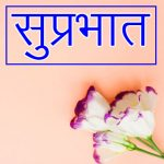 Latest Suprabhat Images With Flowers