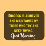 Success Good Morning Images