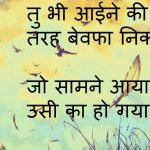 Bewafa Hindi Shayari Images HD