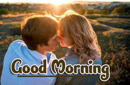 Latest Best Love Couple Good Morning Wishes Images Pics Download