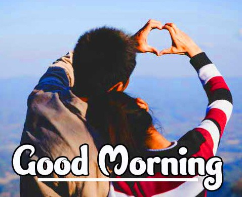 Best Love Couple Good Morning Wishes Images Pics for Whatsapp / Facebook