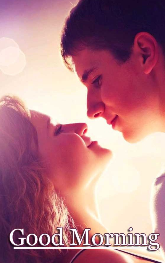 Best Sweet Romantic Love Couple Good Morning Wishes Images Pics Latest Download Free