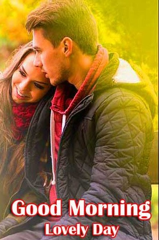 Best Sweet Romantic Love Couple Good Morning Wishes Images Pics Download New Latest