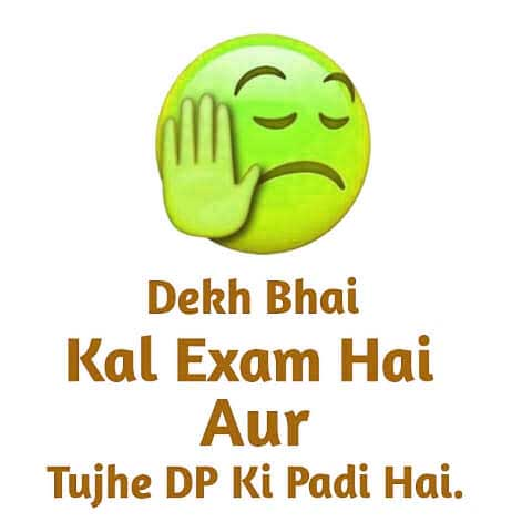 Best Exam Time Whatsapp DP Download Images