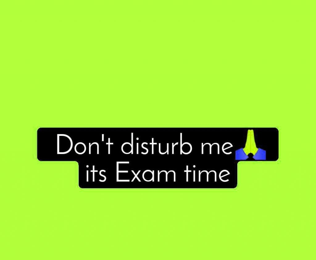 Exam Time Whatsapp DP Download Images