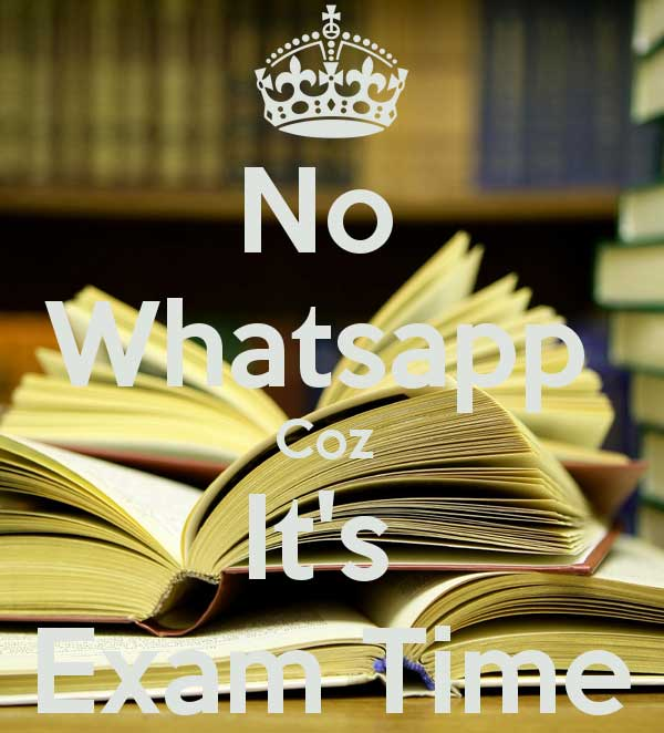 Exam Time Whatsapp DP Images Download